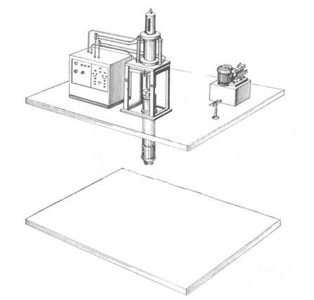 Оборудование для производства изделий из фторопласта