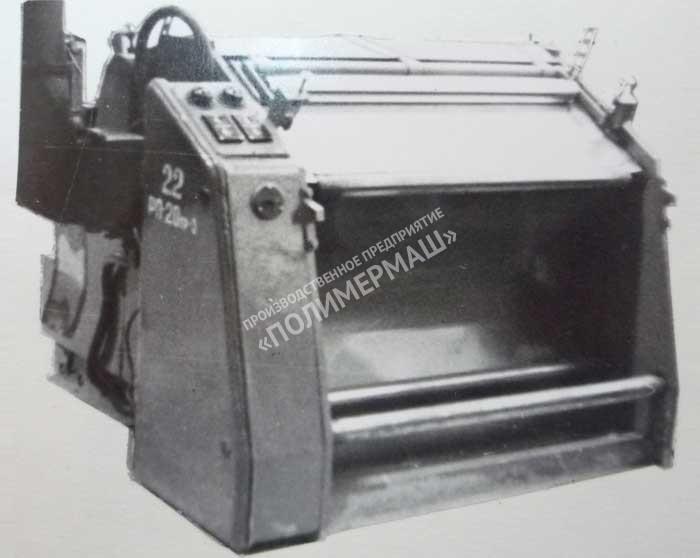 Станок для шерохования листовой резины инд. 163.031