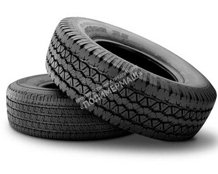 Протекторная линия для легковых шин, инд. 552.881