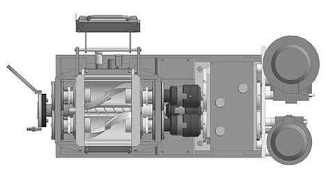 3D модель смесителя
