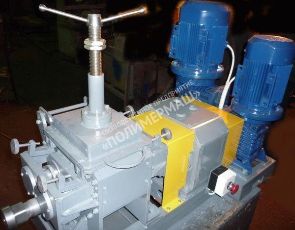 Лабораторные пластосмесители «Книдеры»  с выгружным шнеком РК-2Ш; РК-10Ш; РК-20Ш