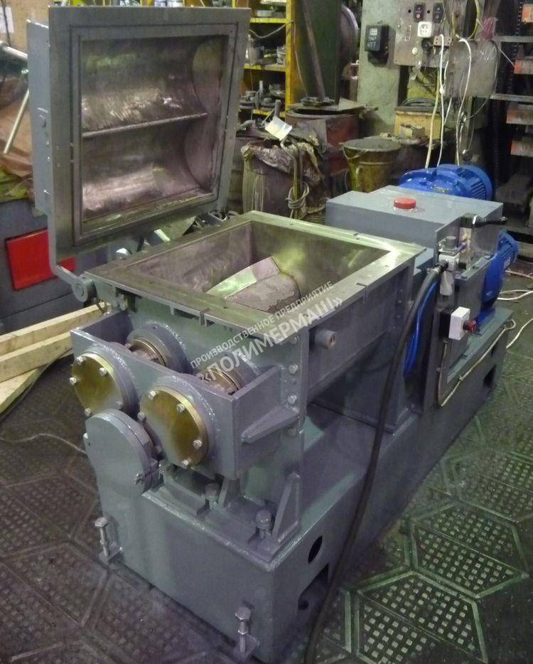 Промышленные пластосмесители «Книдеры»  с выгружным шнеком РК-40Ш; РК-80Ш; РК-150Ш; РК-300Ш