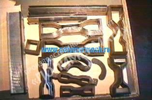 Вырубные ножи для вырубки образцов из пластин